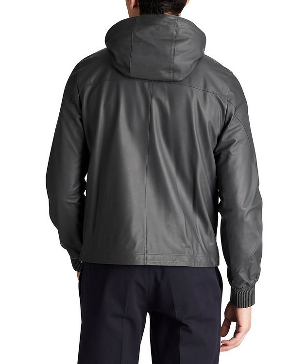 Calfskin Bomber Jacket picture 2