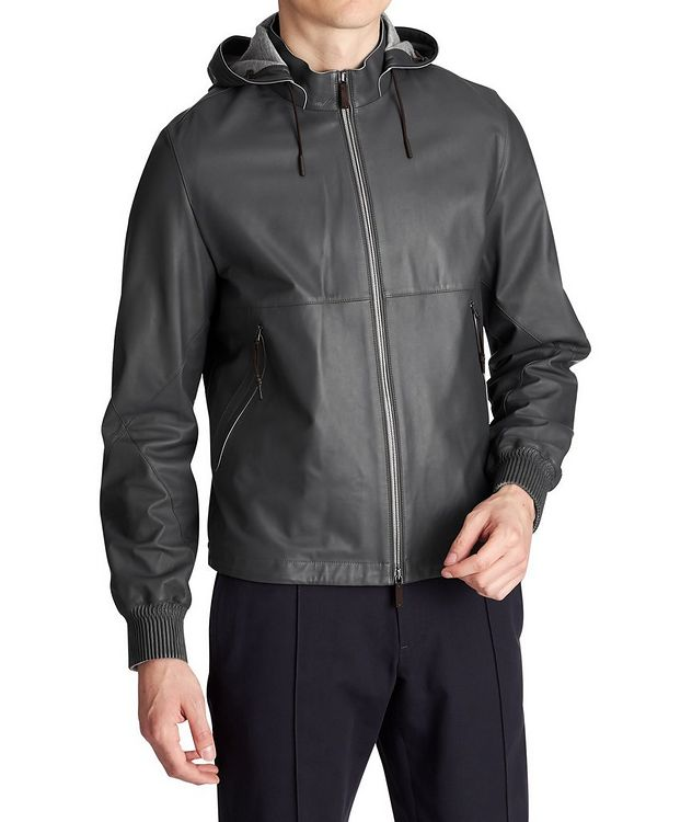 Calfskin Bomber Jacket picture 1