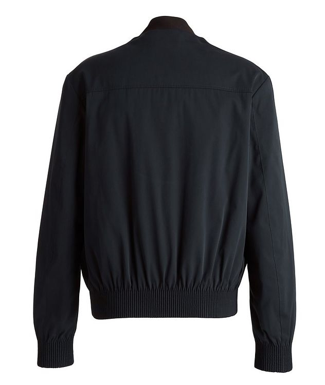 Couture Cotton-Silk Bomber Jacket picture 2