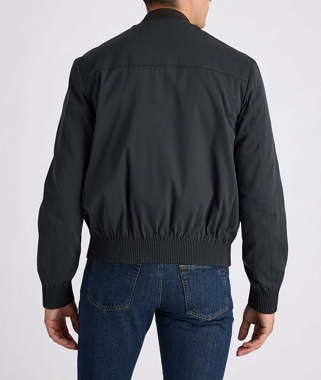 Couture Cotton-Silk Bomber Jacket picture 4