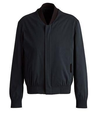 Ermenegildo Zegna Couture Cotton-Silk Bomber Jacket