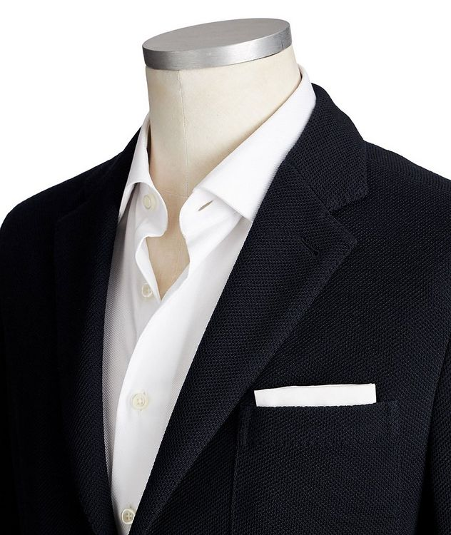 Jerseywear Unstructured Wool-Cotton Sports Jacket picture 2
