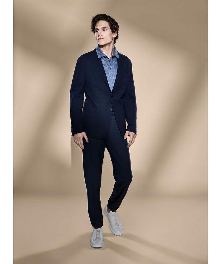 Jerseywear Unstructured Wool-Cotton Sports Jacket image 2