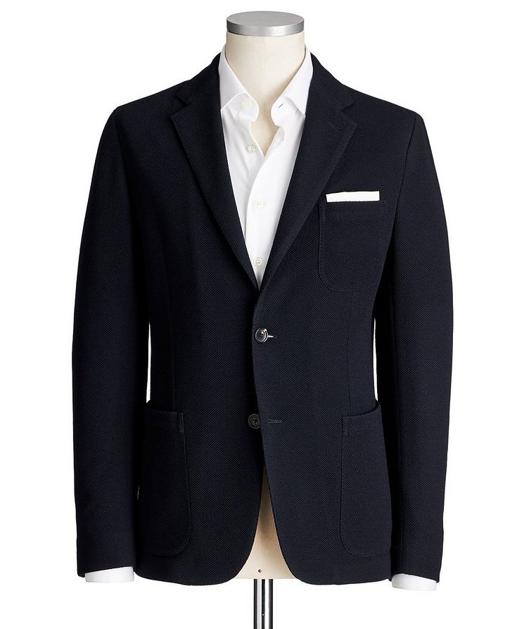 Jerseywear Unstructured Wool-Cotton Sports Jacket image 0