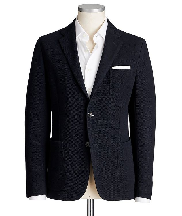 Jerseywear Unstructured Wool-Cotton Sports Jacket picture 1
