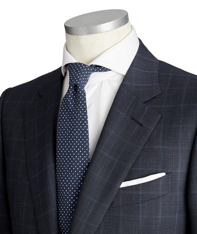 Couture Wool-Silk Suit image 1