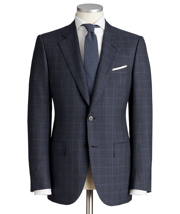 Couture Wool-Silk Suit image 0