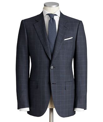 Ermenegildo Zegna Couture Wool-Silk Suit