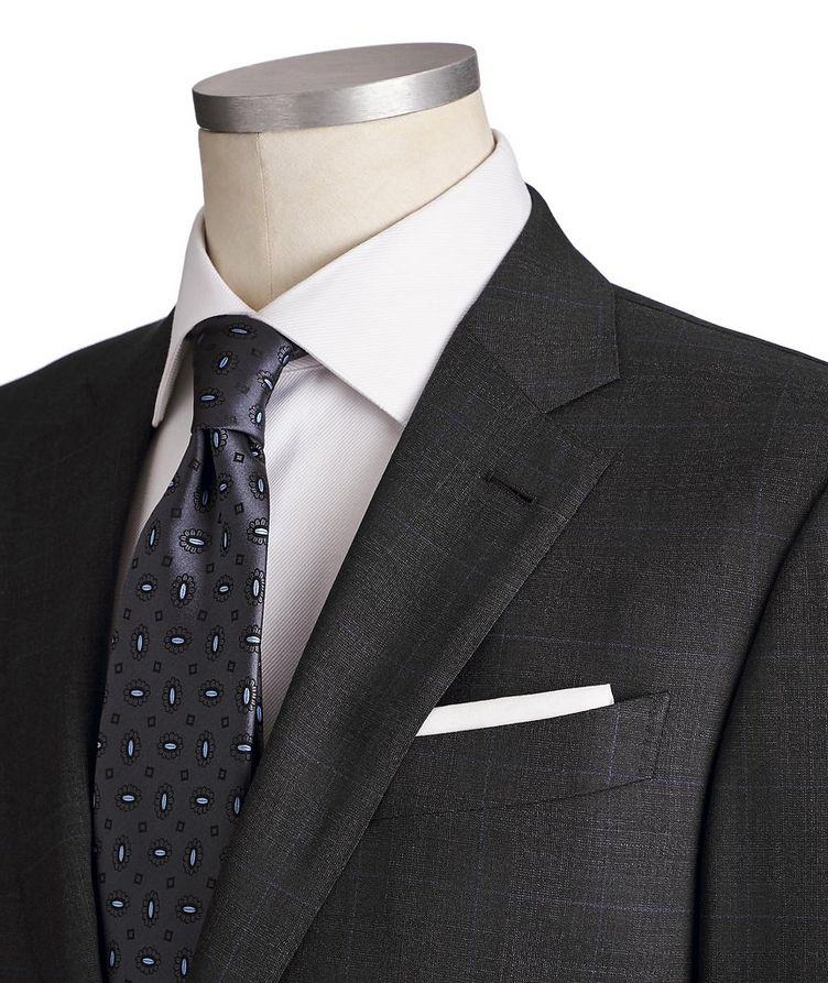 Milano Trofeo Comfort Stretch-Wool Suit image 1
