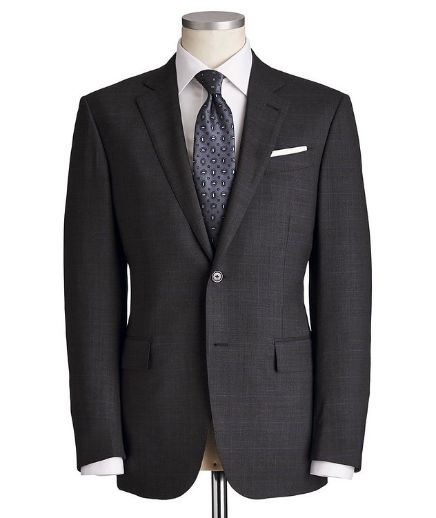 Milano Trofeo Comfort Stretch-Wool Suit picture 1