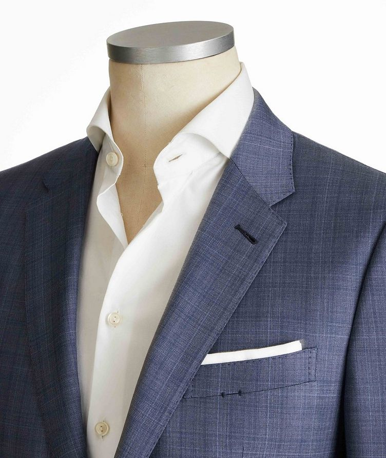 City Glen Checked Suit image 1