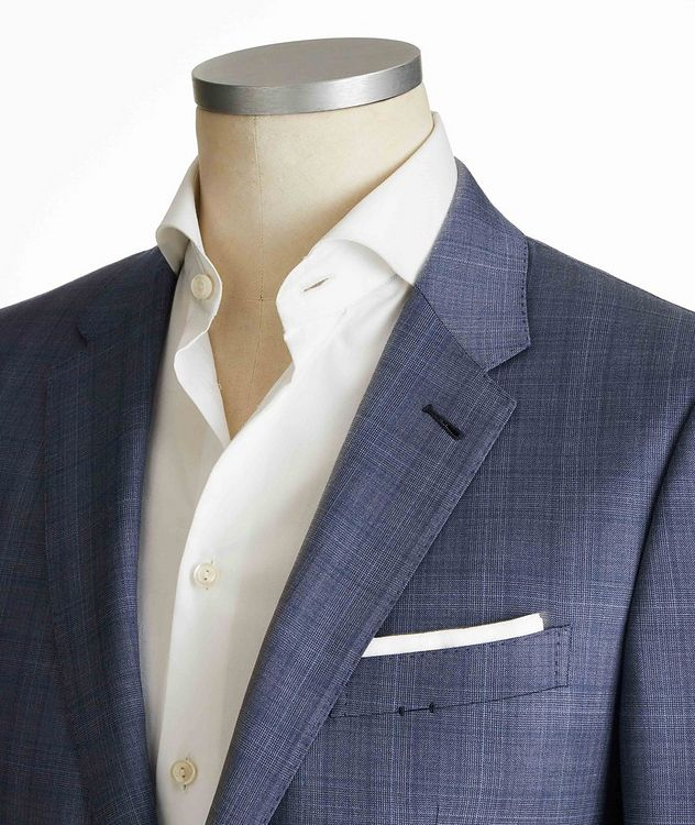 City Glen Checked Suit picture 2