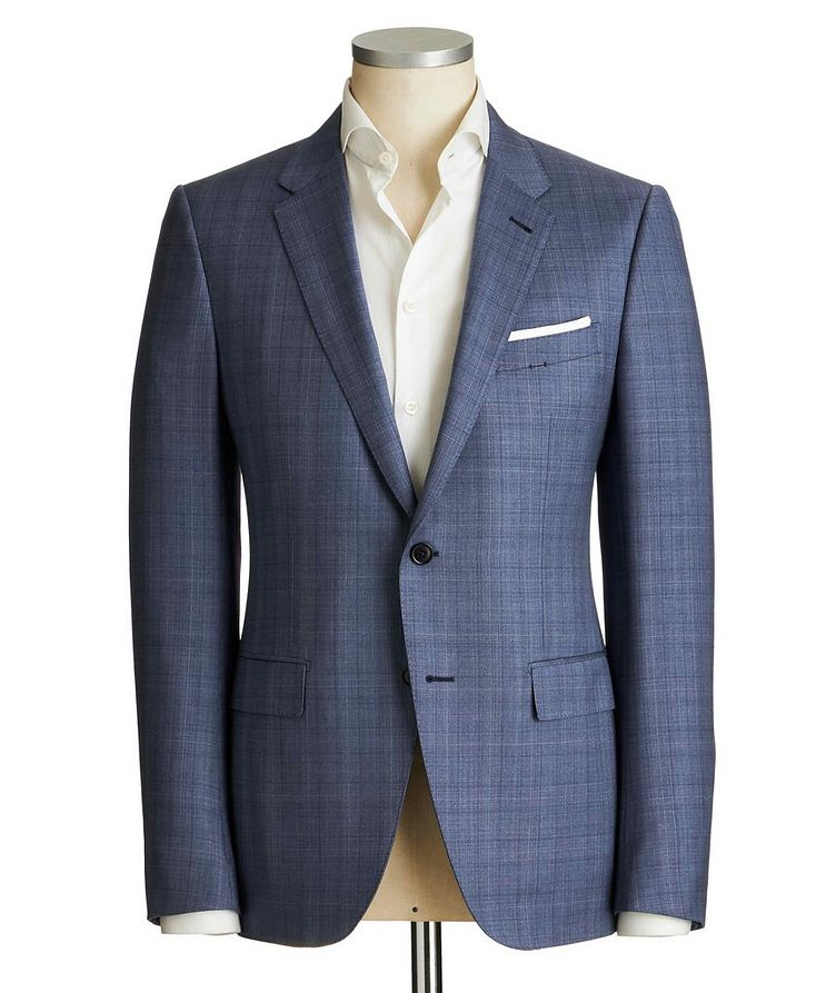 City Glen Checked Suit image 0