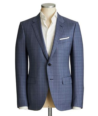 Ermenegildo Zegna City Glen Checked Suit