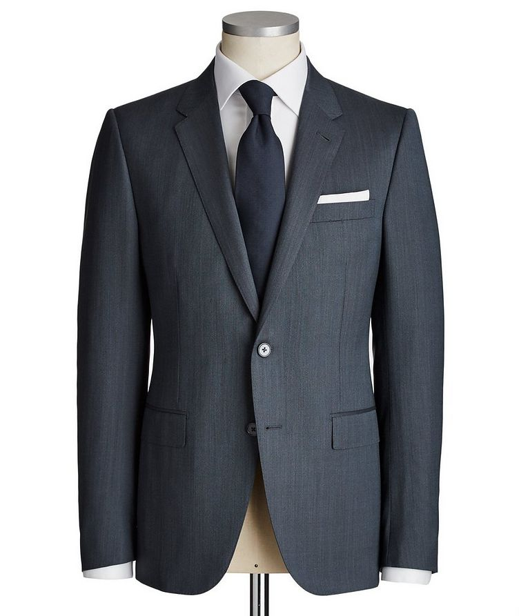 City Wool-Silk Suit image 0