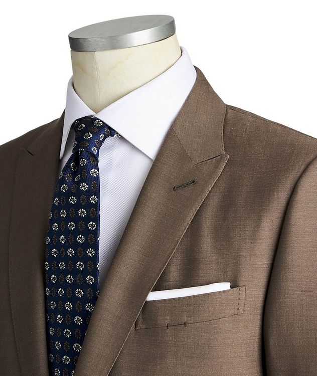 City Silk-Wool Suit picture 2