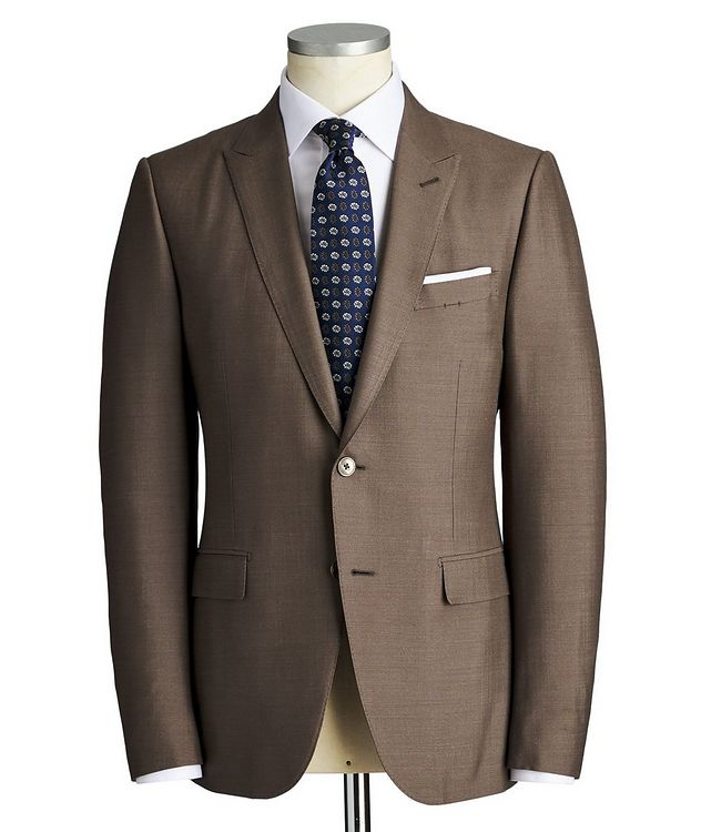 City Silk-Wool Suit picture 1