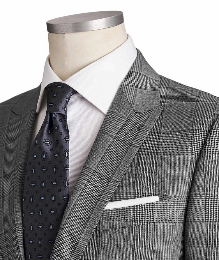 City Checked Suit image 1