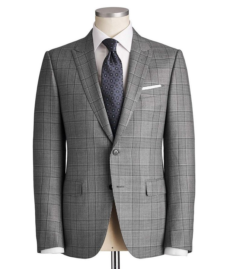 City Checked Suit image 0