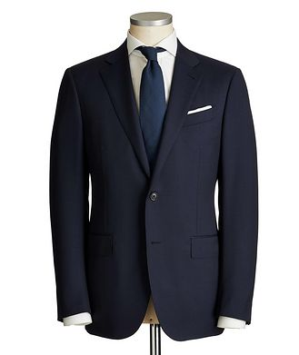Ermenegildo Zegna Milano Multi-Season Checked Suit