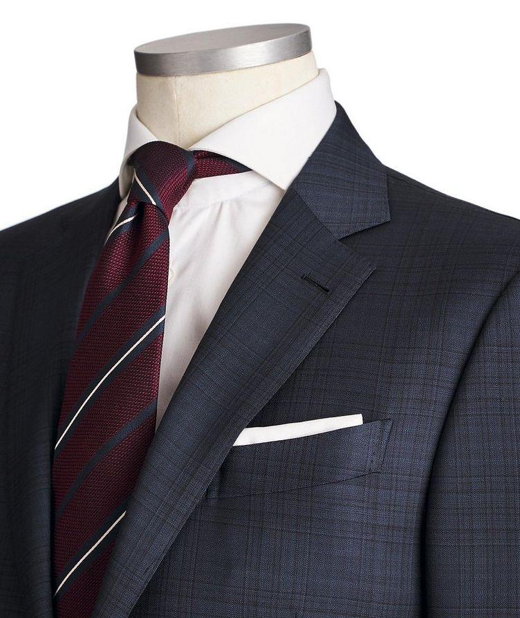 Milano AchillFarm Checked Wool-Silk Suit image 1