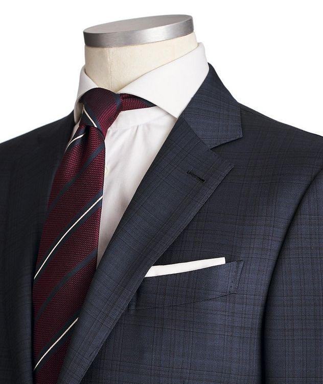 Milano AchillFarm Checked Wool-Silk Suit picture 2