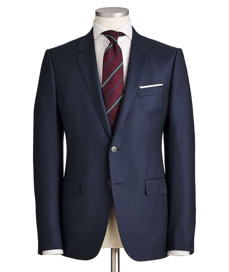 City Grid-Checked Suit image 0
