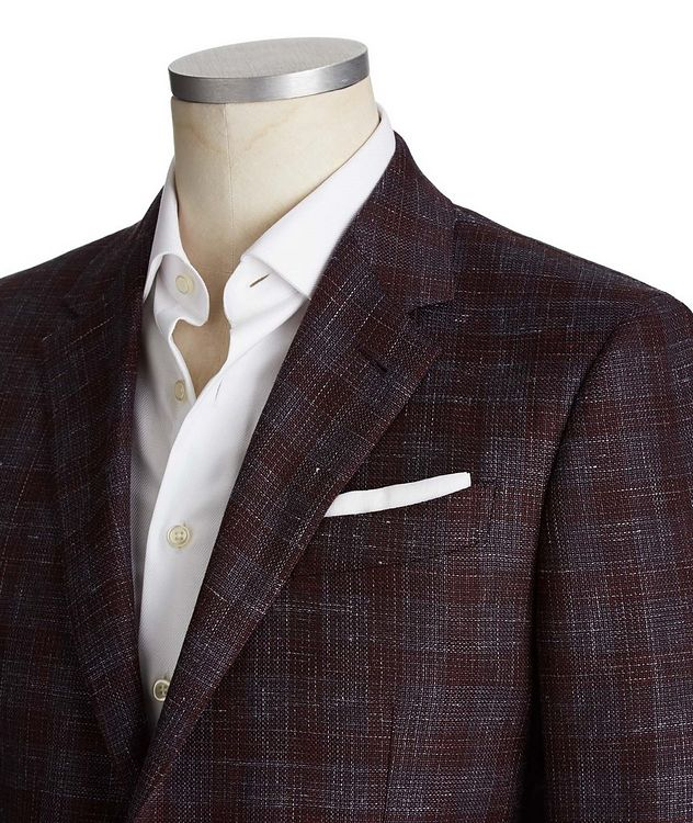 Milano Easy Wool, Silk & Linen Sports Jacket picture 2