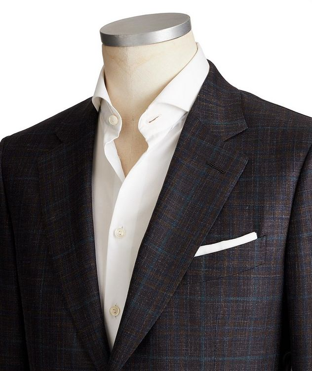 Couture Wool, Silk & Linen Sports Jacket picture 2