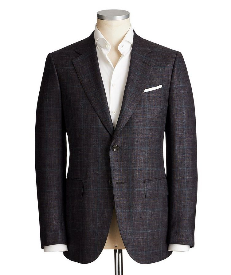 Couture Wool, Silk & Linen Sports Jacket image 0
