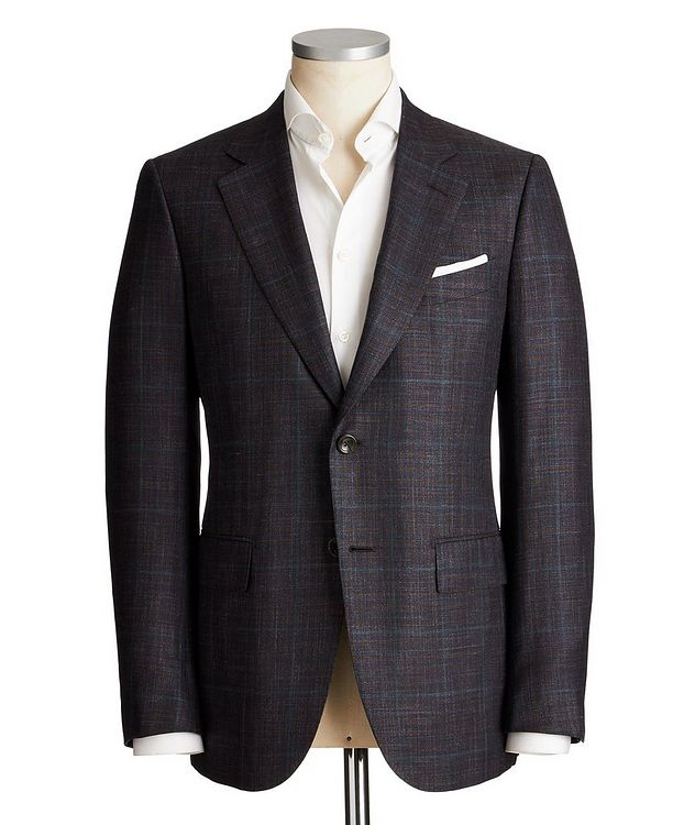 Couture Wool, Silk & Linen Sports Jacket picture 1