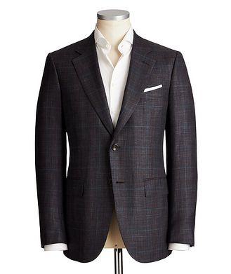Ermenegildo Zegna Couture Wool, Silk & Linen Sports Jacket