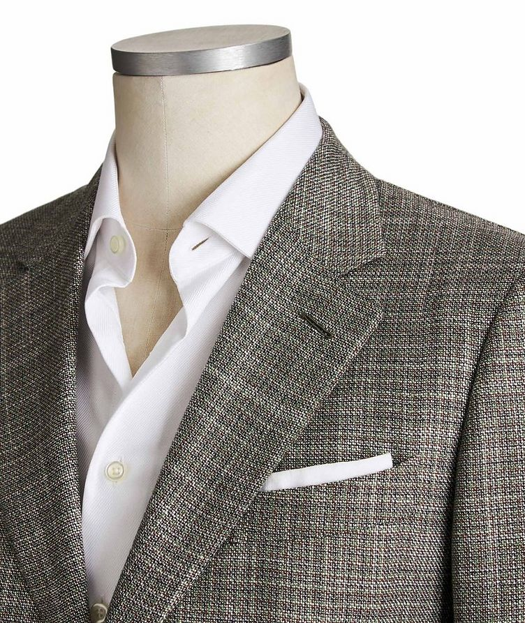 Couture Cashmere-Silk Sports Jacket image 1