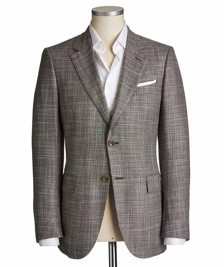 Couture Cashmere-Silk Sports Jacket image 0