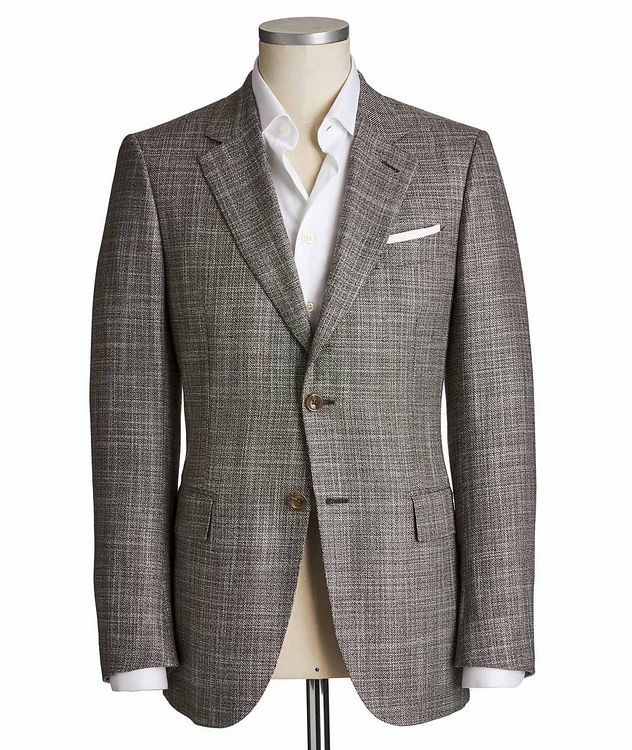 Couture Cashmere-Silk Sports Jacket picture 1