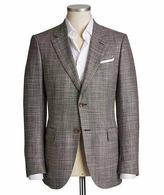 Ermenegildo Zegna Couture Cashmere-Silk Sports Jacket