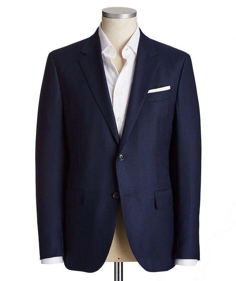 10 Pockets Wool-Silk Sports Jacket image 0