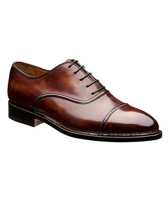 Bontoni Cap-Toe Leather Oxfords