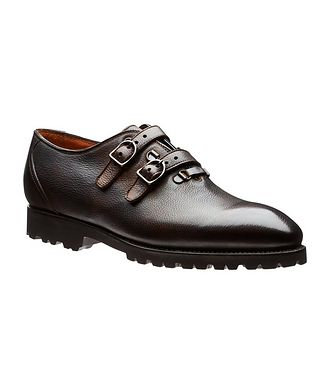 Bontoni Buckled Leather Shoes