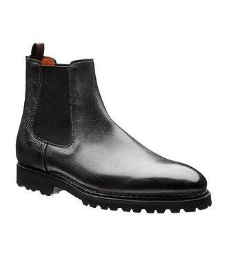 Bontoni Calfskin Chelsea Boots