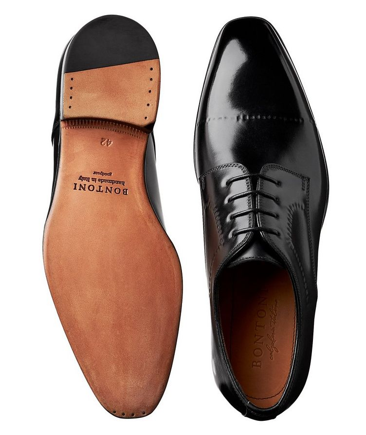 Polished Leather Derbies image 2