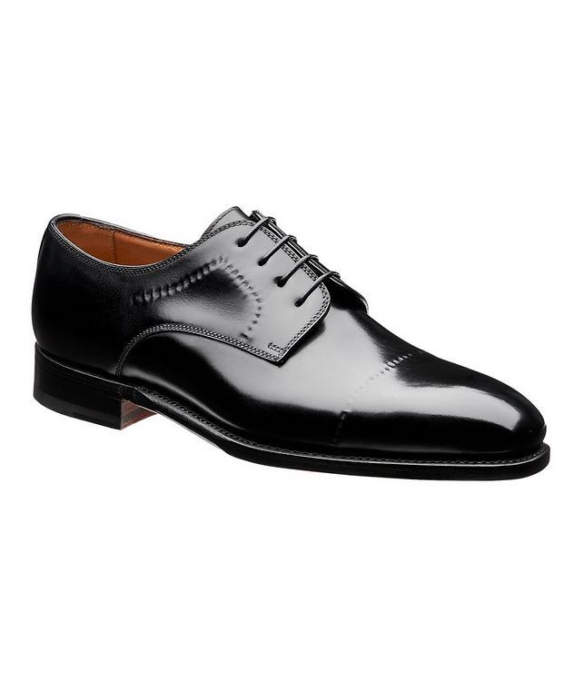 Polished Leather Derbies picture 1