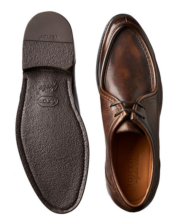 Burnished Leather Derbies picture 3