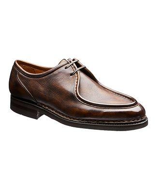 Bontoni Burnished Leather Derbies