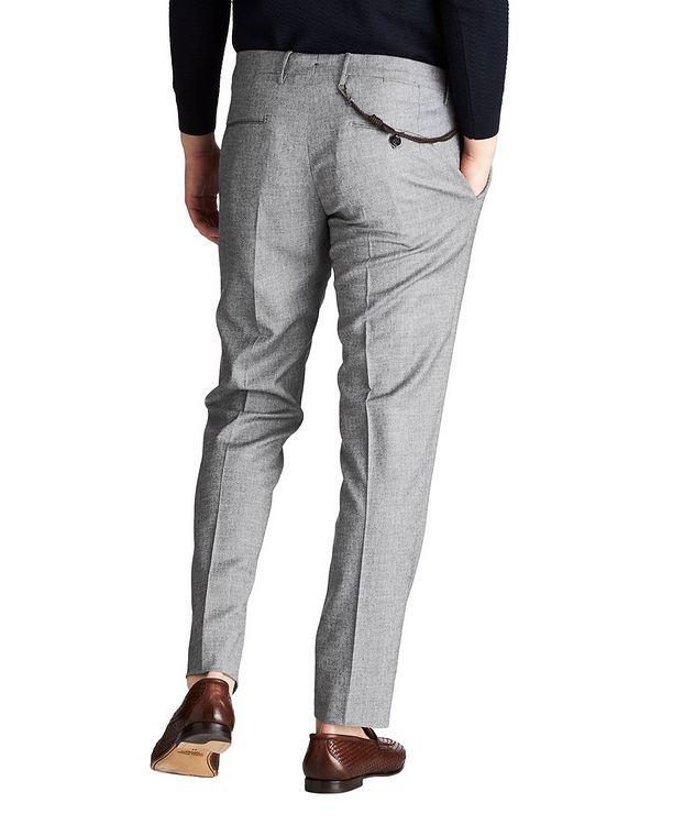 Slim Fit Textured Dress Pants picture 2