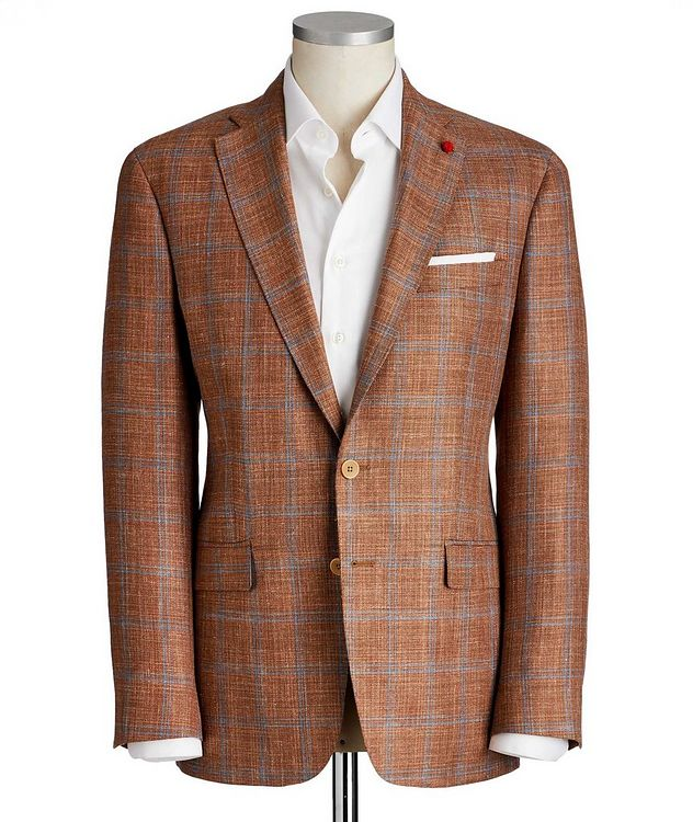 Windowpane Checked Sports Jacket picture 1