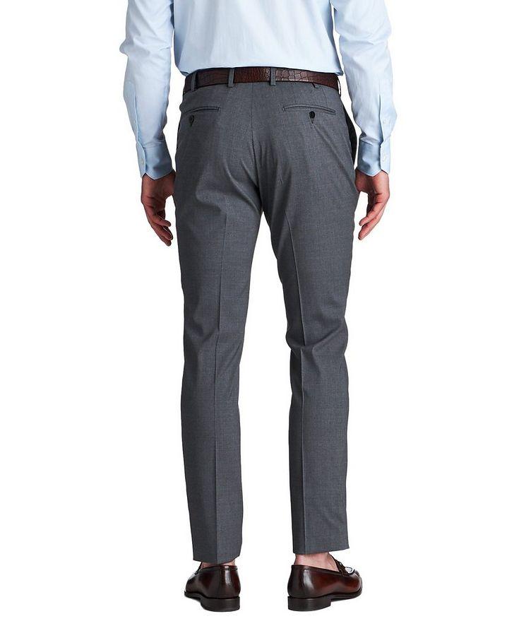 Stretch Wool & Silk Dress Pants image 1