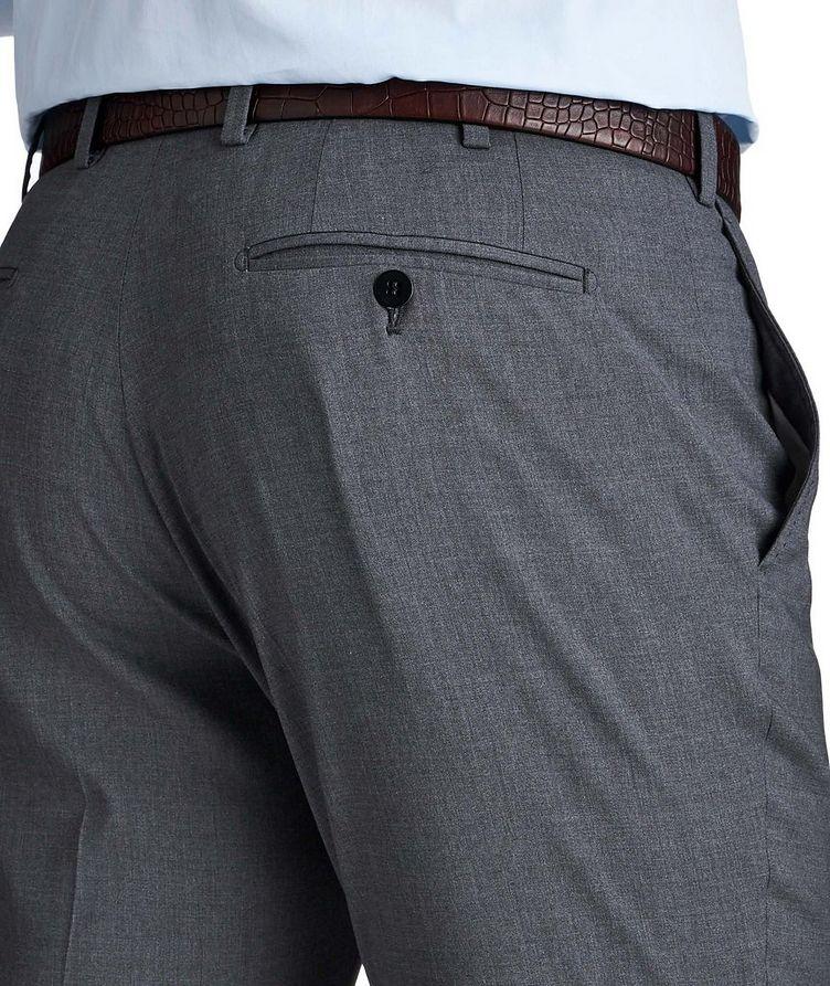 Stretch Wool & Silk Dress Pants image 2