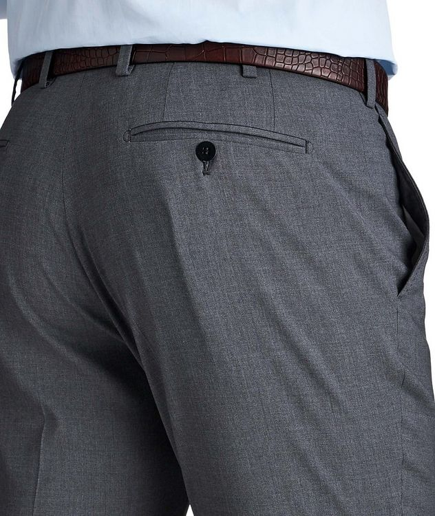 Stretch Wool & Silk Dress Pants picture 3