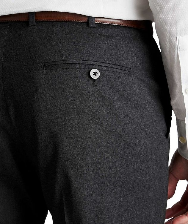 Stretch Wool-Silk Dress Pants picture 3